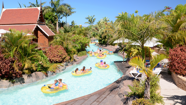 Parque acuatico Siam Park en Tenerife