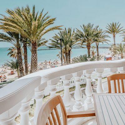 Hotel Cleopatra habitación vistas al mar