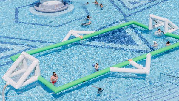 Campo de Waterpolo piscina Mediterranean Palace