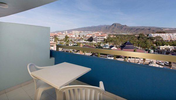 Habitación Doble con terraza vistas Tenerife