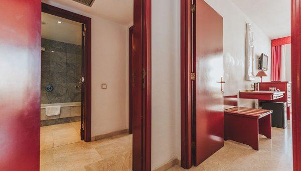 Habitación familiar hotel Cleopatra Palace