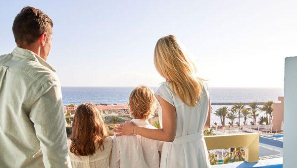 Habitación familiar vistas al mar hotel Tenerife