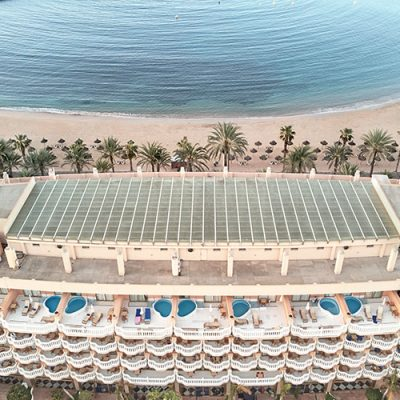 Hotel en la playa Cleopatra Palace