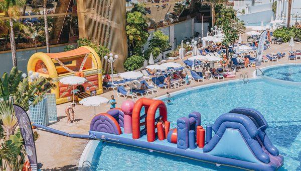 Plataforma Acuática para niños hotel en Tenerife
