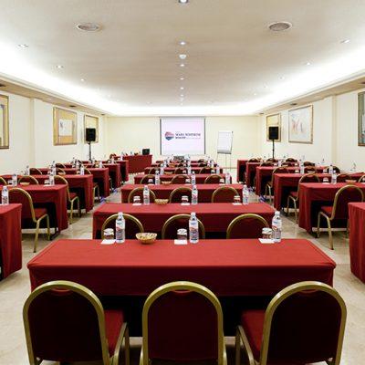 Sala para exposiciones de empresa hotel en Tenerife