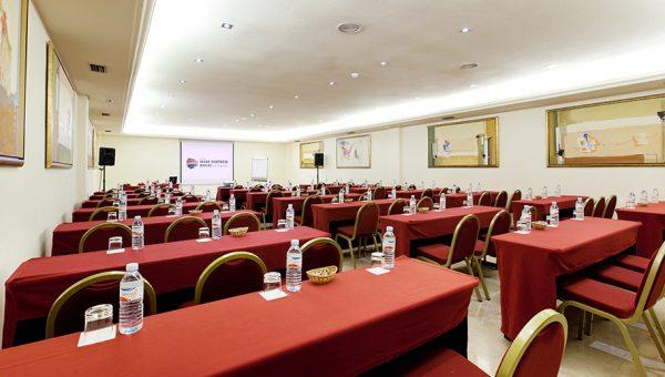 Sala para presentacione de empresa hotel en Tenerife