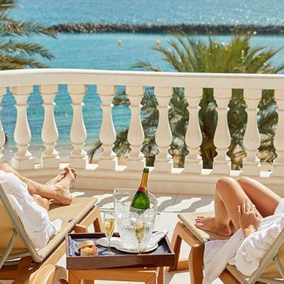 Suite Cleopatra con vistas al mar