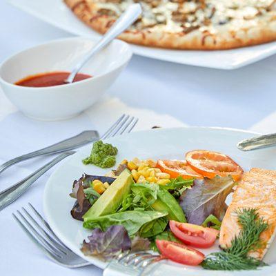 Buffet almuerzo Restaurante Mediterranean