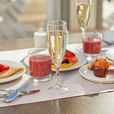 Desayuno en Terraza Restaurante Cleopatra