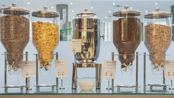 Desayuno con cereales Buffet Hotel
